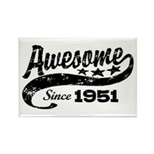 Awesome Since 1951 Rectangle Magnet