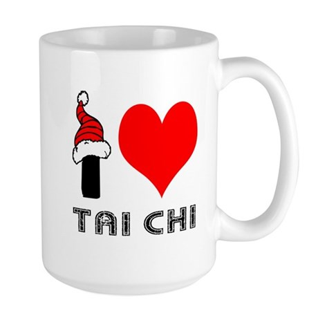 I Love Tai Chi Large Mug