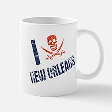 I Jolly Roger New Orleans Mug