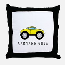 Karmann Ghia Throw Pillow
