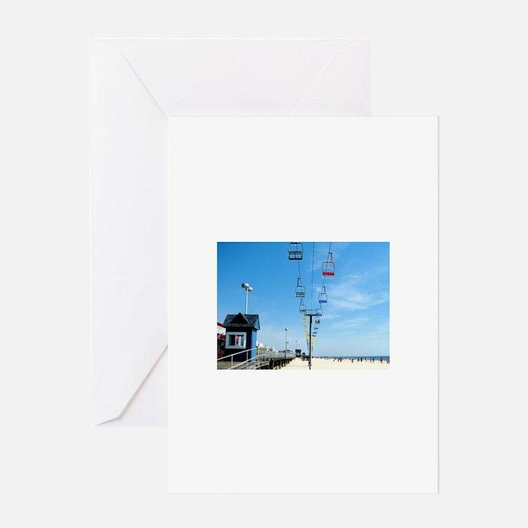 Sky Ride Greeting Card