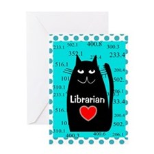 Librarian Greeting Card