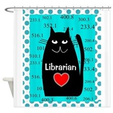 Librarian Shower Curtain