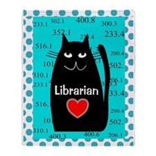 Librarian Throw Blanket