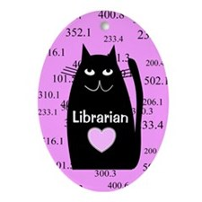 Librarian Ornament (Oval)
