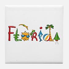 Florida Spirit Tile Coaster