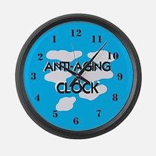 Anti Aging Large Wall Clock