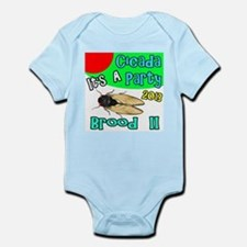 It's A Cicada Party Infant Bodysuit