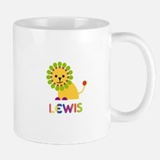 Lewis Loves Lions Mug
