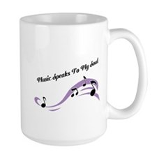 Music Speaks To My Soul Mug