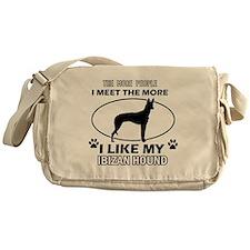 Ibizan Hound doggy designs Messenger Bag