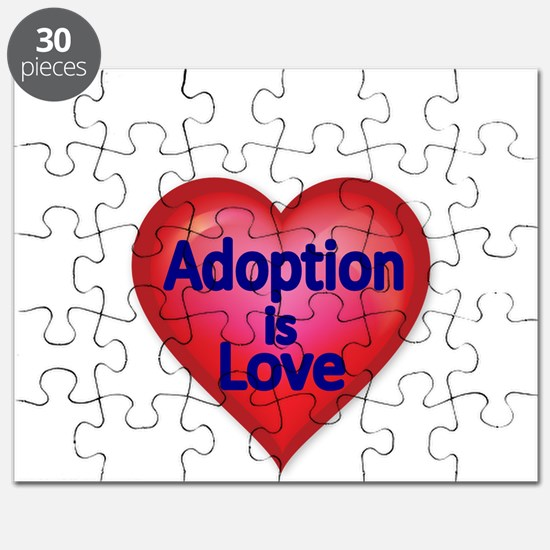 Adoption is love Puzzle