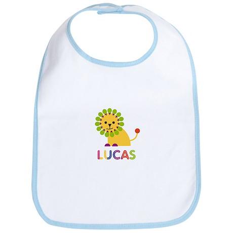 Lucas Loves Lions Bib