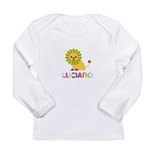 Luciano Loves Lions Long Sleeve T-Shirt