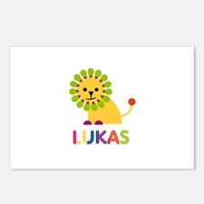Lukas Loves Lions Postcards (Package of 8)
