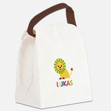 Lukas Loves Lions Canvas Lunch Bag
