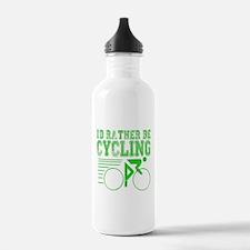 Cycling Green Water Bottle