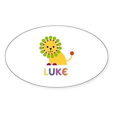 Luke Loves Lions Decal