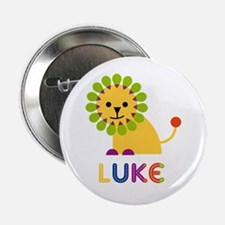 "Luke Loves Lions 2.25"" Button"