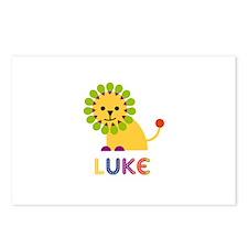 Luke Loves Lions Postcards (Package of 8)