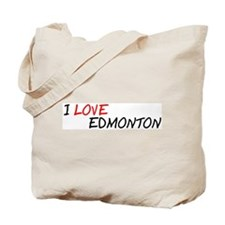I Love Edmonton Tote Bag
