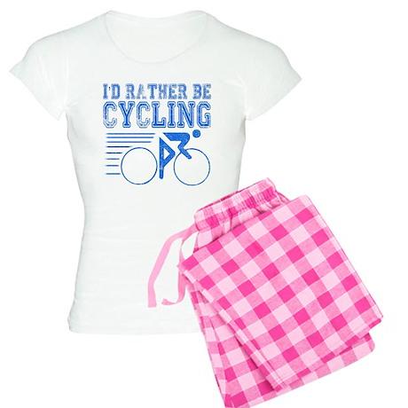 Cycling Blue Pajamas