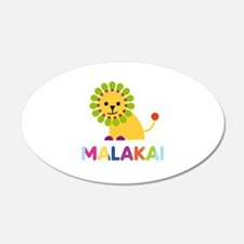 Malakai Loves Lions Wall Decal
