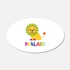 Malaki Loves Lions Wall Decal