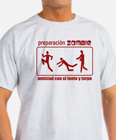 Zombie Preparedness Spanish T-Shirt