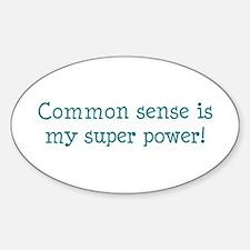 common sense Decal