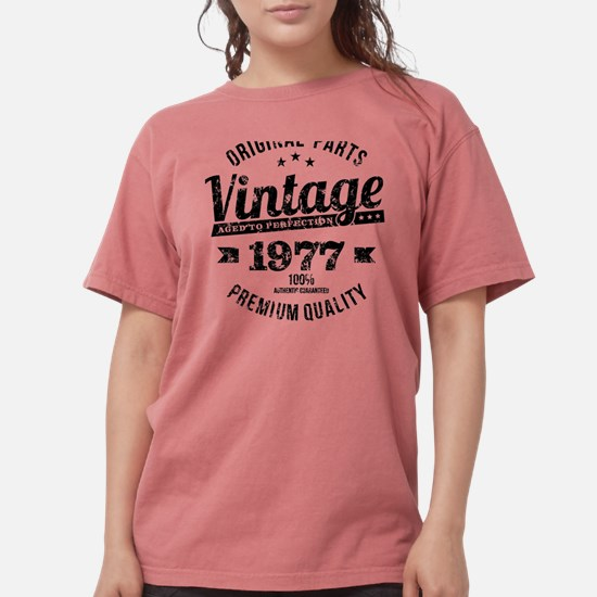 1977 Vintage Year Funn Womens Comfort Colors Shirt