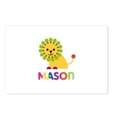 Mason Loves Lions Postcards (Package of 8)