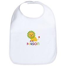 Mason Loves Lions Bib