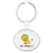 Mathias Loves Lions Keychains