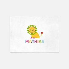Mathias Loves Lions 5'x7'Area Rug