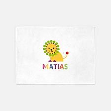Matias Loves Lions 5'x7'Area Rug