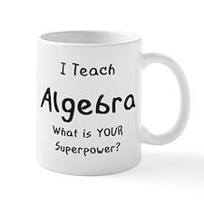 teach algebra Mug