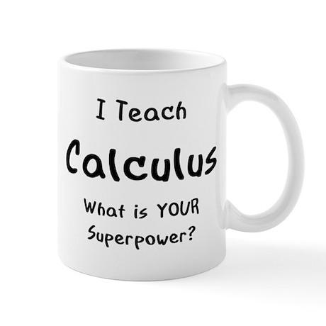 teach calculus Mug