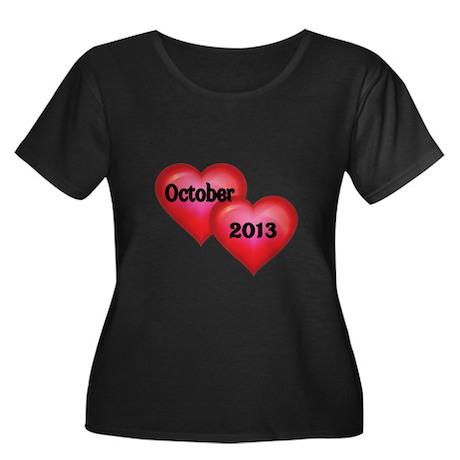 October 2013 Plus Size T-Shirt