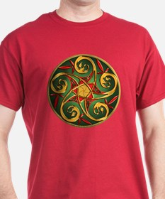 Celtic Pentacle Spiral T-Shirt