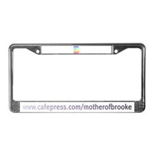 Brooke License Plate Frame