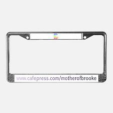 Brooke License Plate Frame