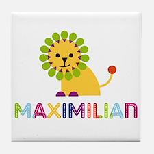 Maximilian Loves Lions Tile Coaster