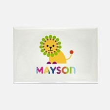 Mayson Loves Lions Rectangle Magnet (100 pack)