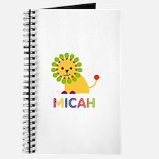 Micah Loves Lions Journal
