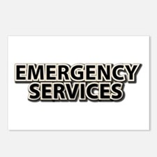 Emergency Services Postcards (Package of 8)