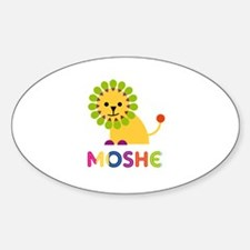 Moshe Loves Lions Decal