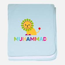 Muhammad Loves Lions baby blanket