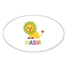 Nasir Loves Lions Decal