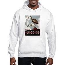 Zoo Herons Hoodie